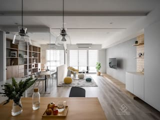 極簡室內設計 Simple Design Studio Salas de estilo escandinavo