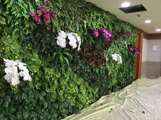 TUKANG TAMAN VERTIKAL JAKARTA Tukang Taman Jakarta Interior landscaping Plastik Multicolored