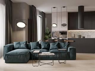 GraniStudio Eclectic style living room