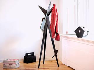 StudioVIX.nl Corridor, hallway & stairsClothes hooks & stands Besi/Baja Black