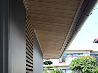 Chicane House(in出水) 岩瀬隆広建築設計 二世帯住宅 木 木目調