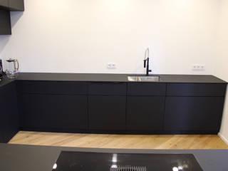 Der Schreinermeister KitchenCabinets & shelves Kayu Buatan Black