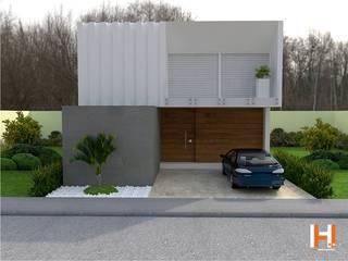 HHRG ARQUITECTOS Modern houses