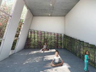 G._ALARQ + TAGA Arquitectos Minimalist study/office
