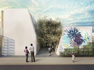 G._ALARQ + TAGA Arquitectos Estudios y despachos de estilo tropical