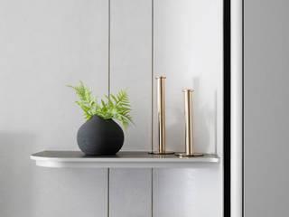 知域設計 Scandinavian style living room Beige