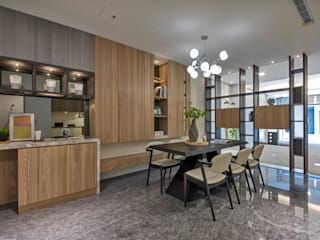 Salas de estar modernas por 大也設計工程有限公司 Dal DesignGroup Moderno