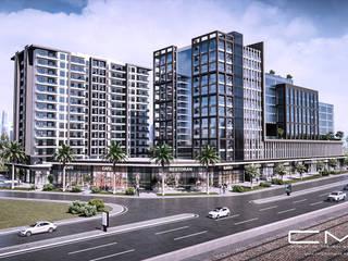 CM² Mimarlık ve Tasarım Stüdyosu Modern offices & stores