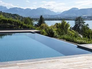 Swimmingpools Manufacture Paul Marie Creation モダンスタイルの プール