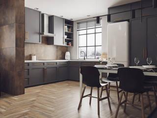 Domni.pl - Portal & Sklep Modern Kitchen Ceramic Brown