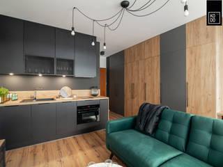 KODO projekty i realizacje wnętrz Salon moderne