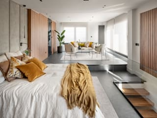 VIVIENDA SANTURTZI FAUS INTERNATIONAL FLOORING SLU Dormitorios de estilo moderno