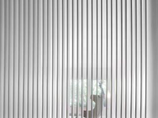 C APARTMENT Kahane Architects Pasillos, vestíbulos y escaleras de estilo minimalista