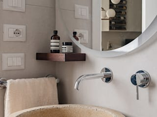 manuarino architettura design comunicazione 浴室 水泥 Beige