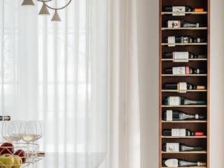 manuarino architettura design comunicazione Built-in kitchens Wood White