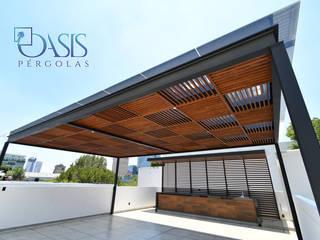 Oasis Pérgolas Modern Terrace