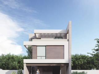 ENCOMIENDA III Espacio Arquitectura Casas unifamiliares Madera Acabado en madera