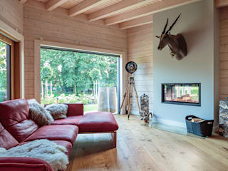 van der Moga Photography Living room Wood