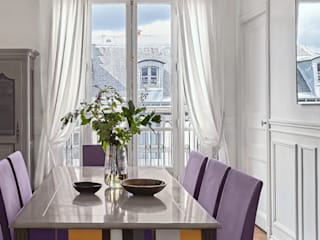 Lichelle Silvestry Interiors Modern Dining Room