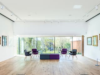 Carnegie Library and Art Galleries - Richard Murphy Architects Chris Humphreys Photography Ltd Musées modernes