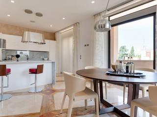 My eternity - Progettazione e ristrutturazione di un appartamento di 130 MQ | Ristrutturazione Roma Centro storico Cucina moderna di Gruppo Castaldi | Roma Moderno
