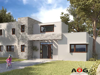 AOG Detached home Bricks White