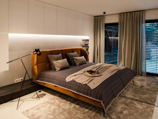 schulz.rooms Modern style bedroom