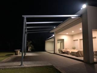 Raylı Tente Avusturya Projesi Buga Mimarlık Tasarım Dekorasyon Kış Bahçesi & Cam Tavan Sistemleri Akdeniz
