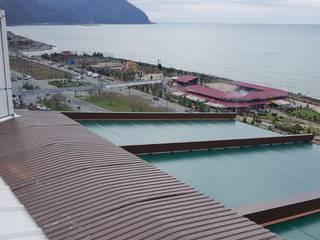 Yemen Kahvesi Hopa Ticaret Odası Şubesi Buga Mimarlık Tasarım Dekorasyon Kış Bahçesi & Cam Tavan Sistemleri Akdeniz
