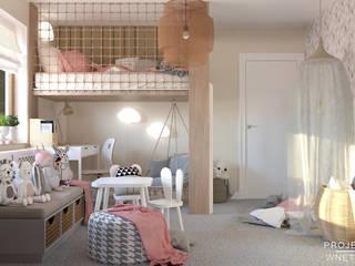 Przytulny pokój dziecięcy Projektowanie Wnętrz Online Pokój dla dziwczynki