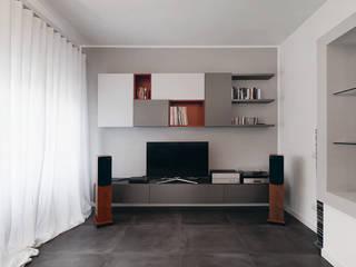 Ouverture - Progettazione e ristrutturazione appartamento Collatina - Soggiorno moderno di Gruppo Castaldi | Roma Moderno