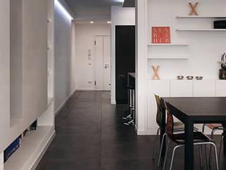 Ouverture - Progettazione e ristrutturazione appartamento Collatina - Ingresso, Corridoio & Scale in stile moderno di Gruppo Castaldi | Roma Moderno