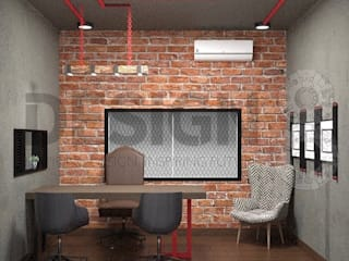 Design 8 Industrial style study/office