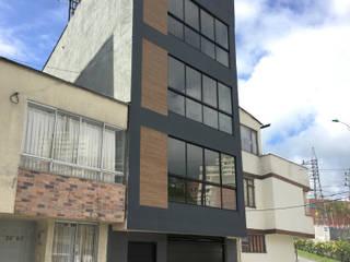 Áureo Arquitectura Casas modernas: Ideas, imágenes y decoración Hormigón Gris