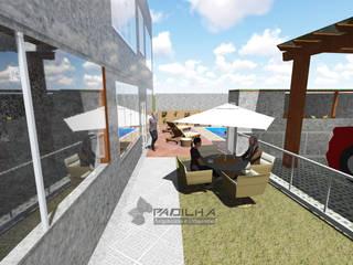 Residência Davidson e Carine Padilha Arquitetura e Urbanismo Varandas