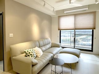 Salas de estar modernas por MSBT 幔室布緹 Moderno