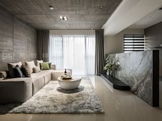 SING萬寶隆空間設計 Soggiorno moderno