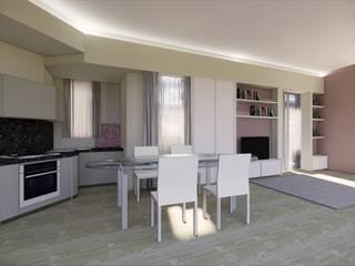 ROBERTA DANISI architetto Modern living room White