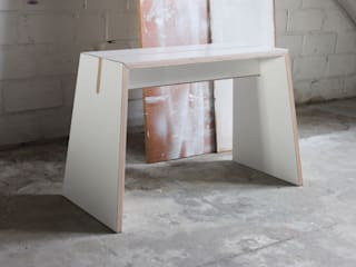 """Tojo """"Stubenhocker"""" ideenfischa Produktdesign KinderzimmerSchreibtische und Stühle Holzwerkstoff Weiß"""