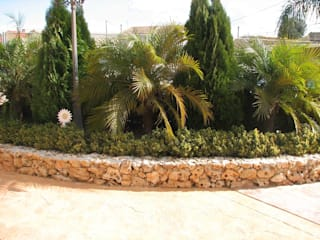 Mantenimiento de jardín en Elche JARDINERIA POZO S.L. Jardines con piedras