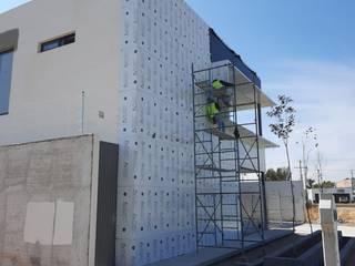 ALUCO SOLUCIONES Modern offices & stores Aluminium/Zinc
