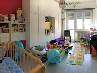 Nuovo arredamento appartamento in Torino Silvia Camporeale Interior Designer Studio moderno Legno composito Bianco