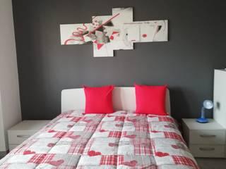 Silvia Camporeale Interior Designer 小臥室 複合木地板 White