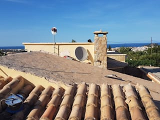 Dach mit Aufdämmung, Tejado con Aislamiento Termico Hemme & Cortell Construcciones S.L. Beige