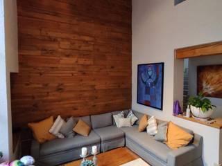 G._ALARQ + TAGA Arquitectos Modern living room