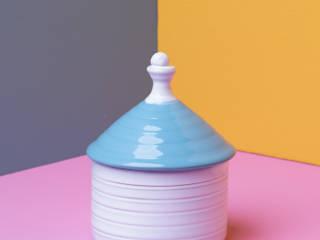 Trullo   Candela Cart'n CasaAccessori & Decorazioni Ceramica Turchese