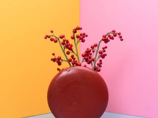 Stone Cart'n CasaAccessori & Decorazioni Ceramica Rosso