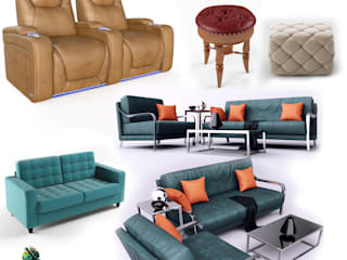 Realistic furniture 3d Product Modeling company & 3d Product visualization services - Denton, Texas Yantram Architectural Design Studio 被動式房屋 刨花板 Brown