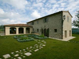 Studio Architetto Pontello Jardines en la fachada