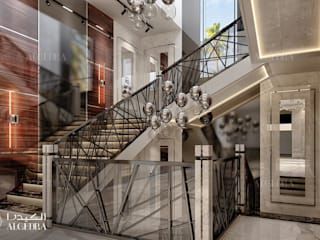 現代風玄關、走廊與階梯 根據 Algedra Interior Design 現代風